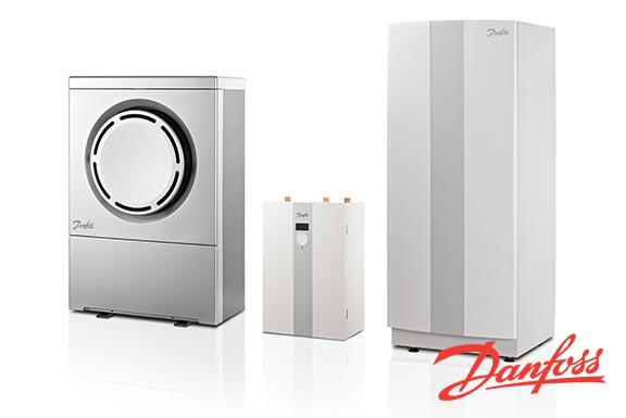Danfoss Air Source Heat Pump system range