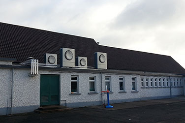 Thermia Air to water systems in St Brigid's National School, Carlow