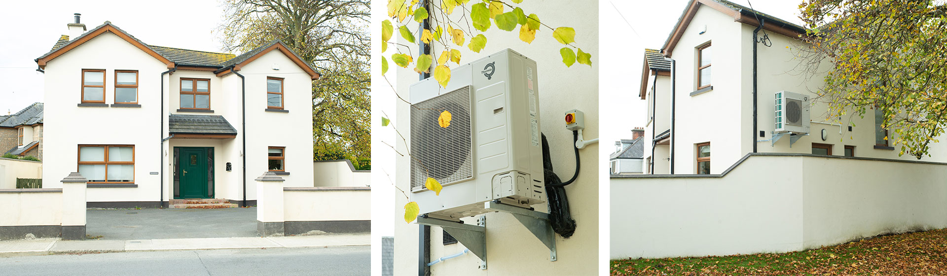 Air-to-Water Heatpump Retrofit with Radiators - Blackrock Co. Louth