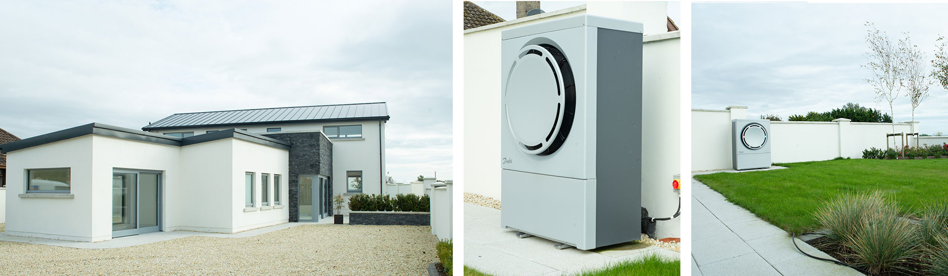Luxury Home, Blackrock, Co. Louth - 16kW Air to Water Heat Pump Installed